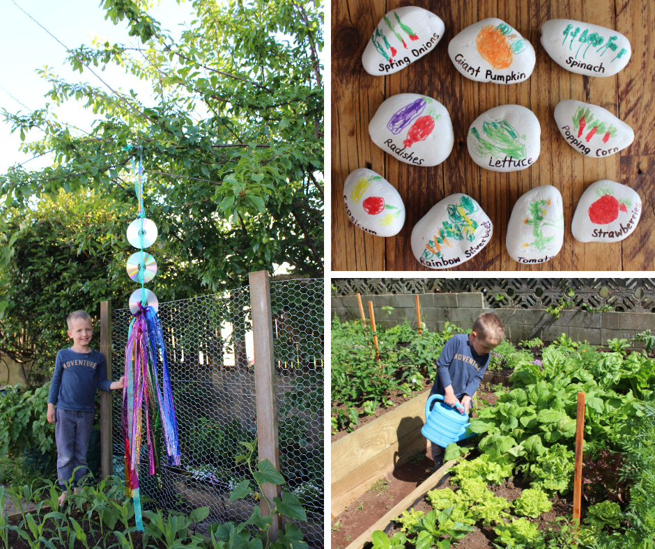 Fun With Kids - Garden Labels and Bird Scarers