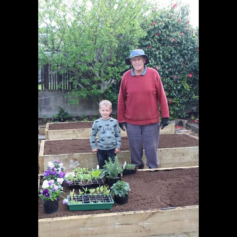 My Gardening Inspiration - Poppa