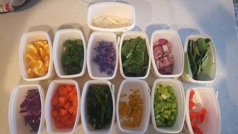 Vege taste testing...... One hilarious afternoon!!!